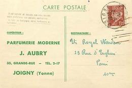 Themes Div-ref CC779- Parfumeries - Parfumeurs - Parfum - Parfumerie Moderne J Aubry A Joigny - Yonne  - - Commerce