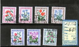 REUNION - TAXE Oblitéré N°48/54 - Reunion Island (1852-1975)