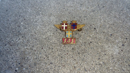 SAS, Scandinavian Airlines, Denmark, Norway, Sweden,enamel Pin, Old Badge - Airplanes