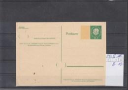 Bund (XX) Michel Kat.Nr.   Ungest P43 I - Cartes Postales - Oblitérées