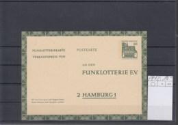 Bund (XX) Michel Kat.Nr.   Ungest FP 12 - Cartes Postales - Oblitérées
