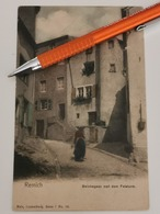 Remich, Beichegasz Mat Dem Felsturn, Série Nels - Ansichtskarten
