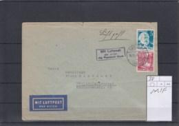 Französische Zone Rheinland Pfalz (XX) Michel Kat.Nr.  38 MiF Luftpost - Zona Francese