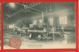59-876 - NORD - DOUAI - La Mine Et Les Mineurs - La Machine D'extraction - Douai