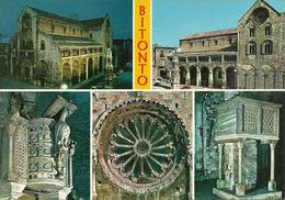 Bitonto (Bari) Cattedrale, Vedute Interne (Pulpiti) Ed Esterne (Facciata E Rosone) - Bitonto