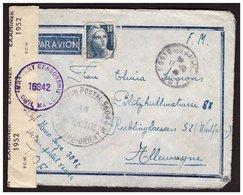 Gandon N° 726 Seul Sur Lettre En FM  Du Secteur Postal 56044 (Ext. Orient) Pour L'ALLEMAGNE Du 19.10.48. Censorship - Francia