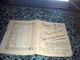 Publicité Bon De Garantie Stylo Pen De Reynolds 2000 Annèe1947 Le Stylo De L'aire Atomique - Publicités