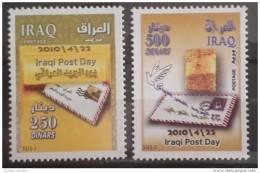 Iraq 2010 MNH Complete Set - Iraqi Post Day - Iraq