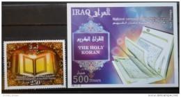 Iraq 2010 MNH - The Holy Koran - Islam - Stamp + S/S - Iraq
