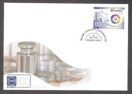 100th Anniversary Of Metrosertt Estonia 2019 Stamp  FDC Mi 957 - Organizaciones