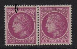 Ceres De Mazelin - N°679 - Variete Sans Epis Tenat à Normal - ** Neuf Sans Charniere - 1945-47 Cérès De Mazelin