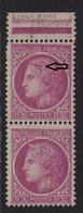 Ceres De Mazelin - N°679 - Variete Tache Dans Cheveux Tenant à Normal - ** Neuf Sans Charniere - 1945-47 Cérès De Mazelin