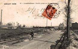 LONDINIERES DOUBLE VIRAGE AU PASSAGE A NIVEAU - Carrieres Sous Poissy
