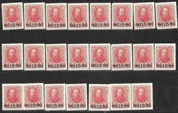 9R-898:24zegels:N°177:mint ... Om Verder Uit Te Zoeken... - Levant