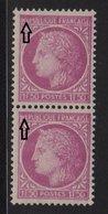 Ceres De Mazelin - N°679 - Variete Legnede Maculée - ** Neuf Sans Charniere - 1945-47 Cérès De Mazelin