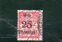 DANTZIG 1923 O - Danzig