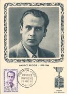 Maximum 1 Giorno - Francia - Eroi Della Resistenza - Maurice Ripoche - H5586 - Cartoline Maximum