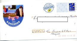 Pap Logo Flamme Muette Illustré Sancoins - Listos Para Enviar: Transplantes/Logotipo Azul