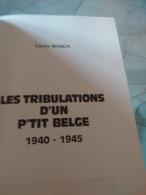 Lucien Boskin. Les Tribulations D'un Petit Belge. - Cultuur