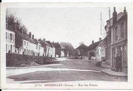 Rue Des Fossés. (Voir Commentaires) - Seignelay
