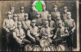 AK/CP SA Musikzug   Nazi    Ungel./uncirc. 1933-45   Erhaltung /Cond.  2- / 3 , Mit Nadellöchern    Nr. 00852 - 1939-45