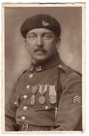 MILITARIA - CARTE PHOTO - PORTRAIT D' UN MILITAIRE - Guerra 1914-18