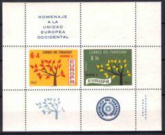 Paraguay 1962 Europa Mi#Block 30 Mint Never Hinged - Paraguay
