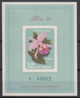 Paraguay 1963 Flowers Flora Mi#Block 45 MUESTRA Mint Never Hinged - Paraguay