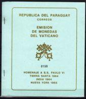 Paraguay 1964 Vatican Vaticano Mi#Block 64 Mint Never Hinged - Paraguay