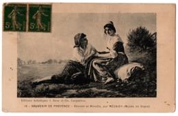 CPA Peinture - Vincent Et Mireille, Par Régnier (musée De Digne) - Peintures & Tableaux
