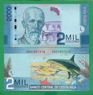 COSTA - RICA - 2000 COLONES – 2009 - UNC - Costa Rica