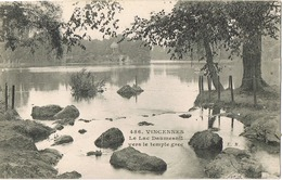 33790. Postal VICENNES (Val De Marne). Lac Danmesnil  Et Temple Grec - Vincennes