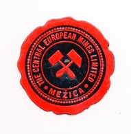 SLOVENIA, MEZICE, THE CENTRAL EUROPEAN MINES LTD, POSTER STAMP, 3.7 Cm  DIAMETER - Slovenia