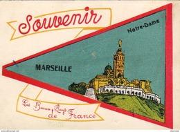 D13  MARSEILLE CARTE FANION Souvenir De Marseille - Marsiglia