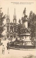 33791. Postal MARSEILLE (Bouches Du Rhone) Monument Des Mobiles, Eglise St. Vincent De Paul - Parques, Jardines