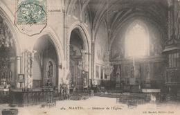 46/ MARTEL - Interieur De L'Eglise - France