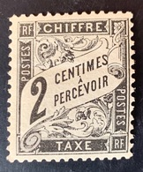 France Timbre Taxe N°11 Neuf Sans Charnière - Taxes