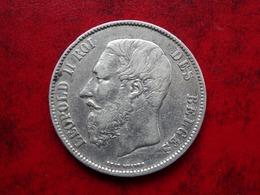 Belgique 5 Francs 1870- Argent 24.90gr - Très Belle - Port Recommandé 5 Euros - 09. 5 Francs