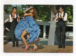 Spagna - Ballo Dell' Andalusia - Viaggiata Nel 1974 - (FDC16718) - Danze