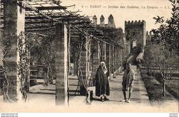 MAROC  RABAT  Jardin Des Oudaïas. La Pergola - Rabat