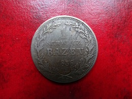 Suisse - Graubunden - 1 Bazen 1836 HB       Rare - Suiza