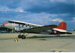 Douglas DC-3 Airplane Air Atlantique Airlines Avion DC3 Dakota Aircraft Aviation DC 3 - 1946-....: Era Moderna