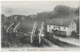Gerardmer Schlitteurs Au Col De Grosse Pierre - Gerardmer