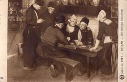 CARTES À JOUER : JEU DE CARTES / PLAYING CARDS - LES JOUEURS ( HOLLANDE ) Par BELLAN - SALON De 1912 (ac853) - Playing Cards