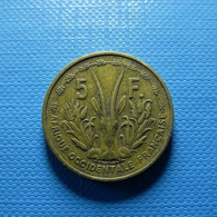 French West Africa 5 Francs 1956 - Colonies
