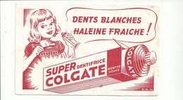 BUVARD .publicité DENTIFRICE COLGATE - Parfum & Kosmetik