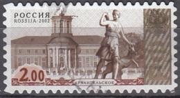 Rossija 2002 Michel 1045 O Cote (2008) 0.10 Euro Moscou Statue Cachet Rond - 1992-.... Fédération