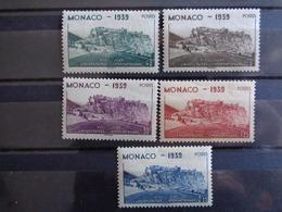 1939 - MONACO Y&T N° 195 & 199 ** - 8e JEUX UNIVERSITAIRES INTERNATIONAUX - Monaco