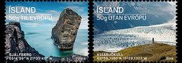 Island Islande 1344/45 Glacier - Preservare Le Regioni Polari E Ghiacciai