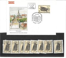 1673r: Österreich 1979, Buchdruckpresse Staatsdruckerei, Schwarzdruck+ Beleg+ **/o Marken - 1945-.... 2de Republiek